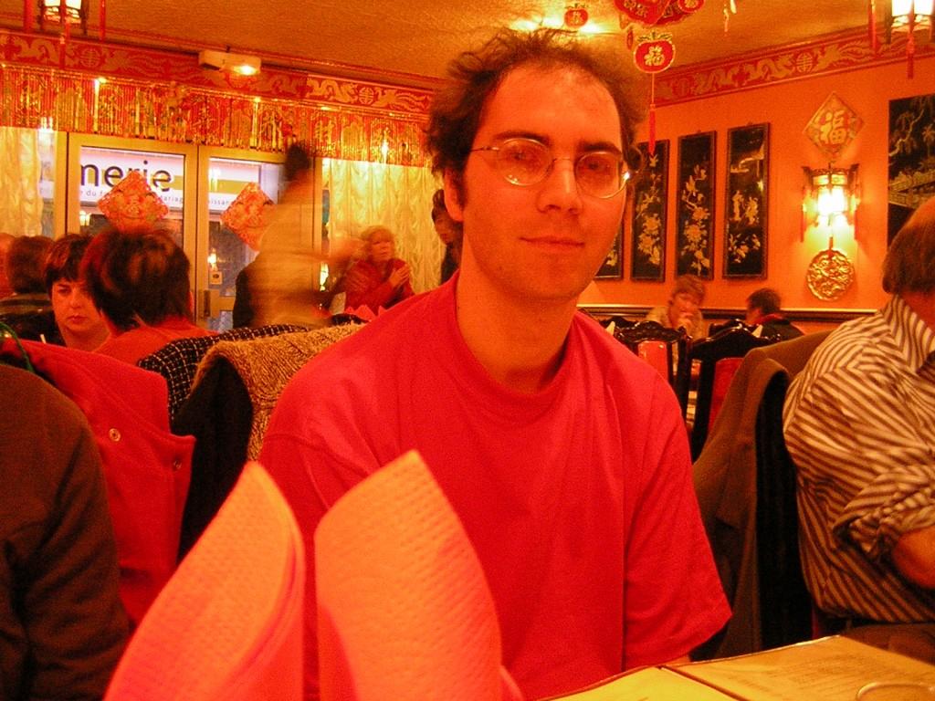 Jean-Luc Le Ténia au resto chinois en 2006